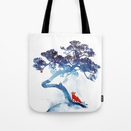 The last apple tree Tote Bag