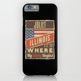 Joliet Illinois iPhone Case