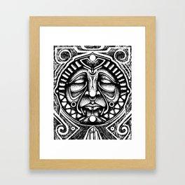 Shamanic trance Framed Art Print