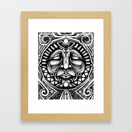 Shamanic trance Framed Art Print