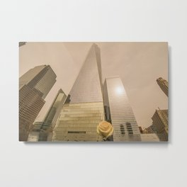 Freedom Tower World Trade Center Metal Print