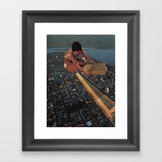 The Circuits Framed Art Print