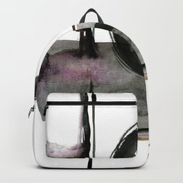 Enso Abstraction No. 112 by Kathy morton Stanion Backpack