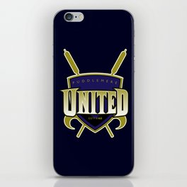 Quidditch Teams of the World: Puddlemere United iPhone Skin