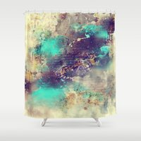 flash Shower Curtains featuring Flash  by Rafael&Arty