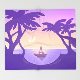 Sirena Summer Throw Blanket