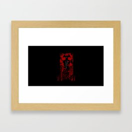 Devilman Crybaby Red v1 Framed Art Print