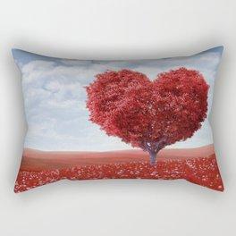 Tree heart Rectangular Pillow