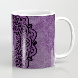 Circle in Purple Coffee Mug