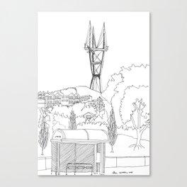 Sutro Tower Canvas Print