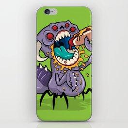 Om Nom Alien Bug iPhone Skin