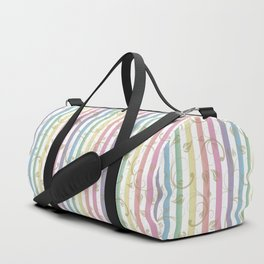 Frosen Past Memories Colorful Winter Duffle Bag