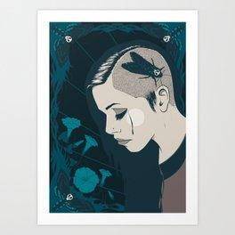 La Moire Art Print
