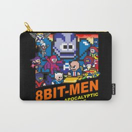 8bit-Men Apocalyptic Age Carry-All Pouch