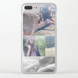 Boho Clear iPhone Case