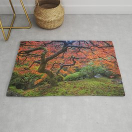 Japanese Maple Tree Rug