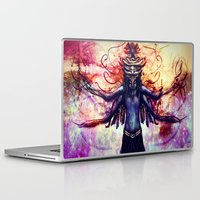 third eye Laptop & iPad Skins featuring Third Eye by Ayula