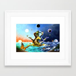 Oshun Framed Art Print
