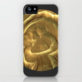 Meditations - Gold Plains iPhone Case