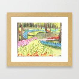 Bit of Holland - Keukenhof Framed Art Print