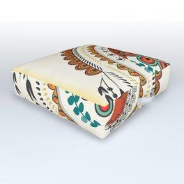 Mandala Outdoor Floor Cushion