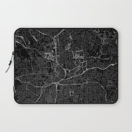 Atlanta Black Map Laptop Sleeve