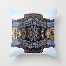VENICE SEA Throw Pillow
