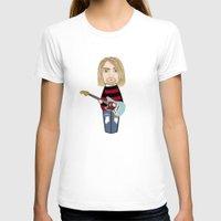 kurt cobain T-shirts featuring Kokeshi Kurt by Pendientera