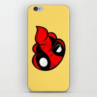 poop iPhone & iPod Skins featuring Dead Poop by Artistic Dyslexia