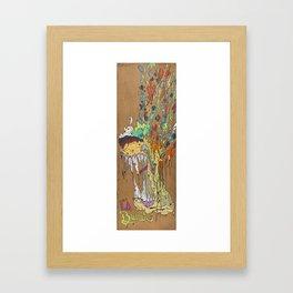 Evil Burrito ( loco LA ) Framed Art Print