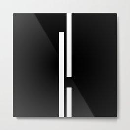 Ultra Minimal II- Metal Print
