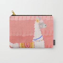 Happy Llama Carry-All Pouch