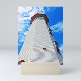 Lighthouse Reaches the Sky Mini Art Print