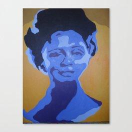 retrato pop Canvas Print