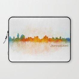 Jerusalem City Skyline Hq v3 Laptop Sleeve