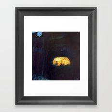 Camp Lights II Framed Art Print