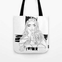 Devil Girl Tote Bag
