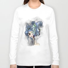 the deep girl-1 Long Sleeve T-shirt