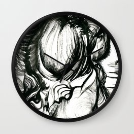 Nyctophobia Wall Clock