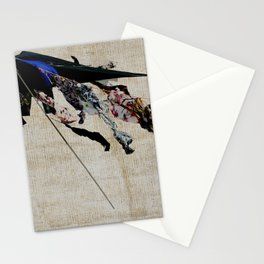 clothes in the wind Stationery Cards
