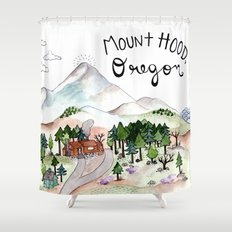 Mt. Hood Shower Curtain