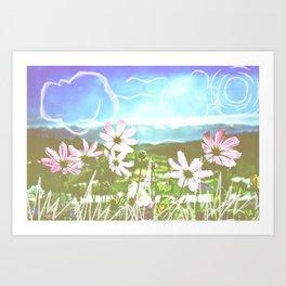 Colorado Sketches Art Print