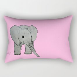 Emma Sweet Pea Rectangular Pillow