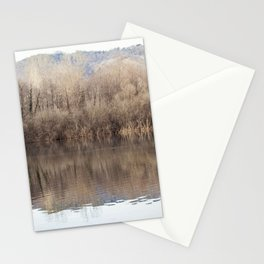 Water lake reflections Stationery Cards