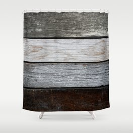 Wood Texture Shower Curtain