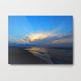 PEI Beach Sunset Metal Print