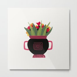 Floral vibes XII Metal Print