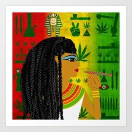 Cleopotra Reggae #1 Art Print