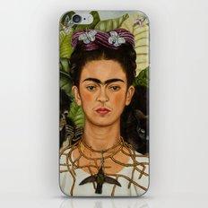 Frida Kahlo Painting I iPhone Skin
