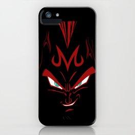 Vegeta majin face iPhone Case